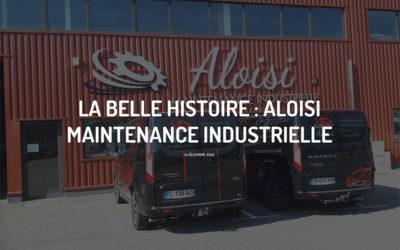 Signalétique Aloisi Maintenance Industrielle : notre collaboration avec G-Pub