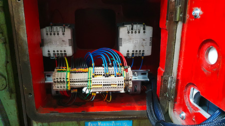 retrofit électrique fraiseuse traditionnelle